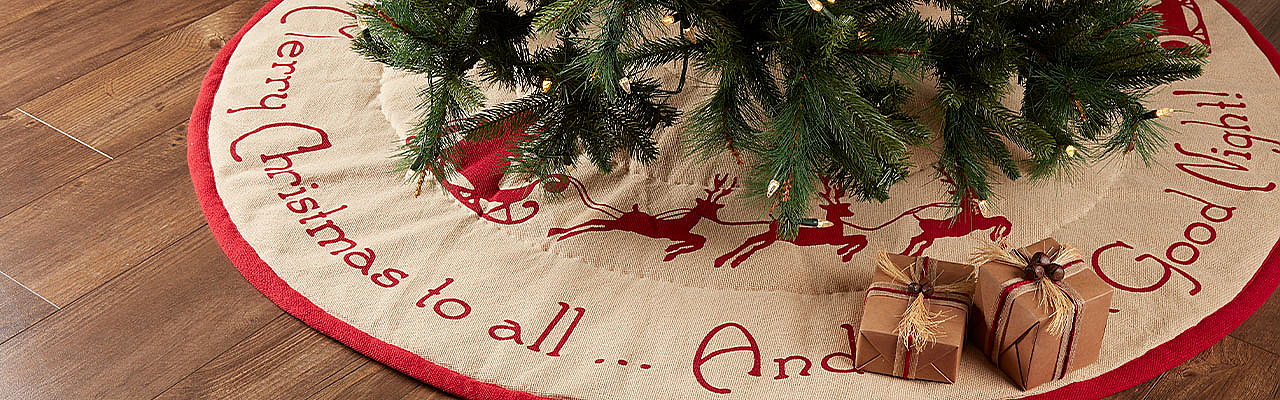 Burlap Santa