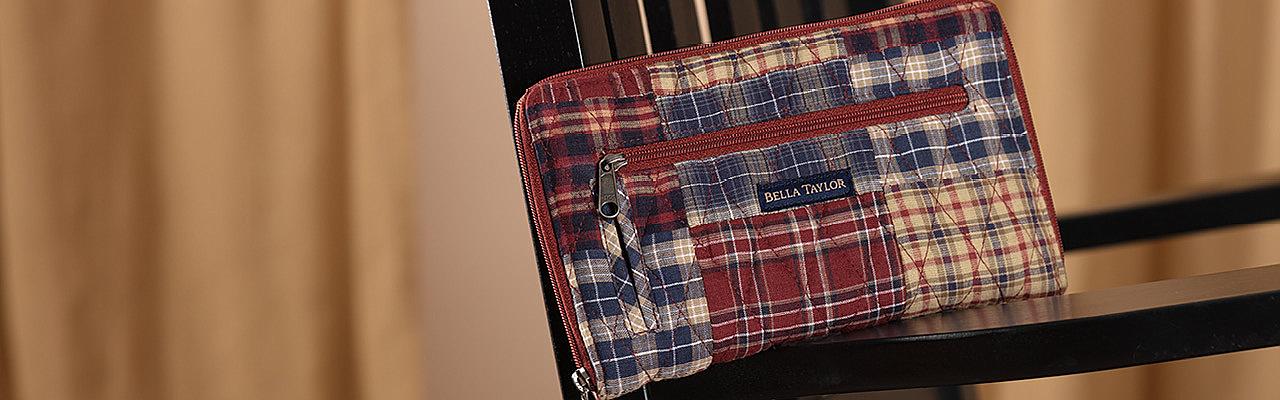 National Quilt Museum Finley Handbags
