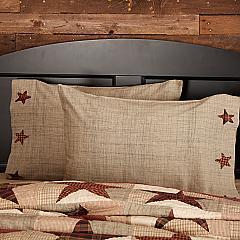 Abilene Star Standard Pillow Case Set of 2 21x30
