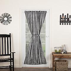 Annie Buffalo Black Check Door Panel 72x40