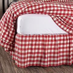 Annie-Buffalo-Red-Check-Queen-Bed-Skirt-60x80x16-image-1