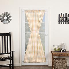 Annie Buffalo Tan Check Door Panel 72x40