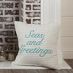 Arielle Seas and Greetings Pillow Cover 18x18