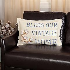 Ashmont Bless Our Vintage Home Pillow 14x22