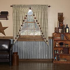 Abilene Star Prairie Short Panel Set of 2 63x36x18