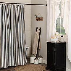 Ashmont Ticking Stripe Shower Curtain 72x72
