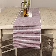 Ashton Burgundy Ribbed Runner 13x72