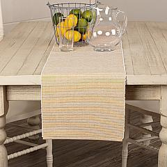 Ashton Gold Ribbed Runner 13x90