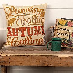 Autumn Calling Pillow 18x18