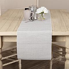Ashton Grey Ribbed Runner 13x72