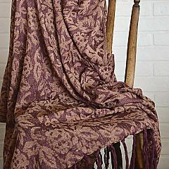 Berkeley Chenille Jacquard Woven Throw 60x50