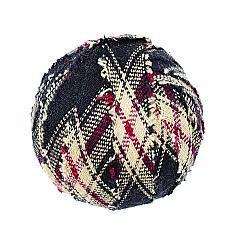"Bingham Star Fabric Ball #1-1.5"" Set of 6"