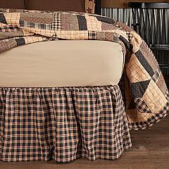 Bingham Star King Bed Skirt 78x80x16