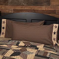 Bingham Star King Pillow Case Set of 2 21x40