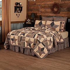 Bingham Star Luxury King Quilt 120Wx105L