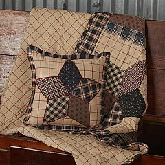 Bingham Star Patch Pillow 10x10