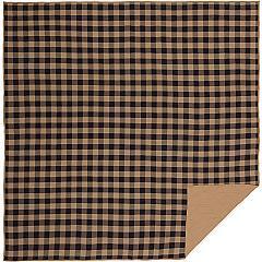 Black-Check-Queen-Quilt-Coverlet-90Wx90L-image-3