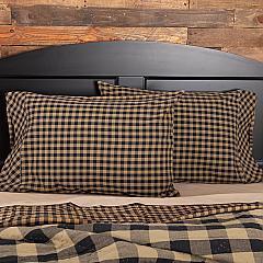 Black-Check-Standard-Pillow-Case-Set-of-2-21x30-image-2