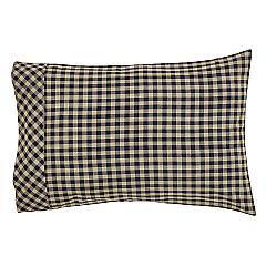 Black-Check-Standard-Pillow-Case-Set-of-2-21x30-image-3