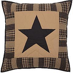 Black-Check-Star-Quilted-Euro-Sham-26x26-image-2