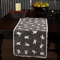 Black Primitive Star Runner 13x36