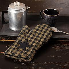 Black Star Oven Mitt