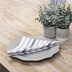 Blake Grey Napkin Set of 6 18x18