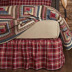 Braxton King Bed Skirt 78x80x16