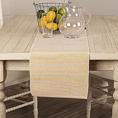 Ashton Gold Ribbed Runner 13x72