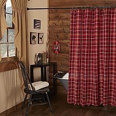 Braxton Scalloped Shower Curtain 72x72