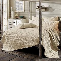 Aubree Taupe Queen Quilt 92Wx92L