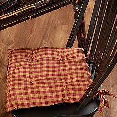 Burgundy-Check-Chair-Pad-image-2