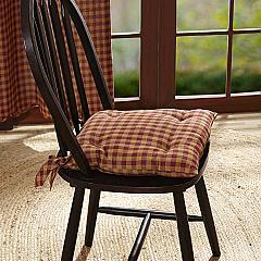 Burgundy-Check-Chair-Pad-image-3