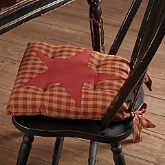 Burgundy-Star-Chair-Pad-image-1