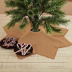 Burlap Natural Mini Tree Skirt 21