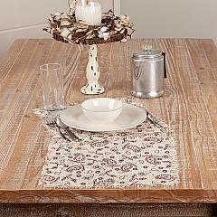 Calistoga Tablemat Tobacco Cloth 13x13 Set of 6