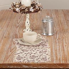 Calistoga Tablemat Tobacco Cloth 9x9 Set of 6