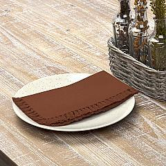 Cassidy Rust Napkin Set of 6 18x18