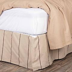 Charlotte Slate Twin Bed Skirt 39x76x16