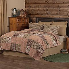 Clement King Quilt 105Wx95L