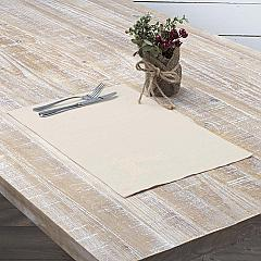 Creme Lace Deer Placemat Set of 6 12x18