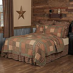 Crosswoods King Quilt 105Wx95L