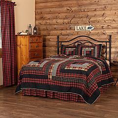 Cumberland California King Quilt Set; 1-Quilt 130Wx115L w/2 Shams 21x37