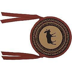 Cumberland-Moose-Applique-Jute-Chair-Pad-Set-of-6-image-3
