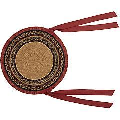 Cumberland-Moose-Applique-Jute-Chair-Pad-Set-of-6-image-4