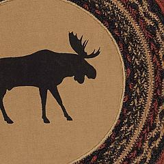 Cumberland-Moose-Applique-Jute-Chair-Pad-Set-of-6-image-5