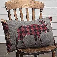 Cumberland Moose Applique Pillow 14x22