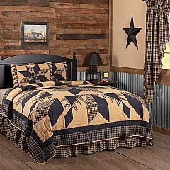 Dakota Star Twin Quilt Set; 1-Quilt 68Wx86L w/1 Sham 21x27