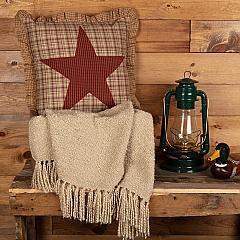 Dawson Star Applique Pillow 18x18