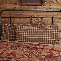 Dawson Star King Pillow Case Set of 2 21x40